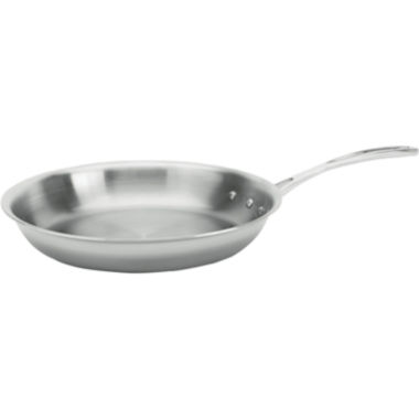 "jcpenney.com | Calphalon® Tri-Ply 10"" Stainless Steel Omelette Pan"