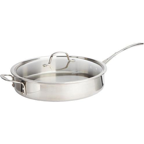 Calphalon® 5-qt. Tri-Ply Stainless Steel Sauté Pan