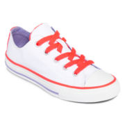 Converse All Star Chuck Taylor® Girls Double-Tongue Sneakers - Little Kids