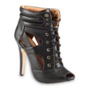 Call it Spring™ Eisemann High Heel Lace-Up Booties