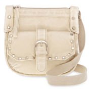 Olsenboye® Washed Flap Crossbody Bag