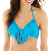 Arizona Fringe Halter Swim Top