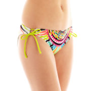 Arizona Tribal Print Keyhole Hipster Swim Bottoms