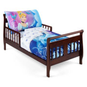 NoJo® Disney Princess Cinderella 4-pc. Toddler Bedding Set
