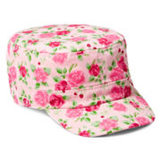 Joe Fresh™ Floral Cadet Hat - Girls