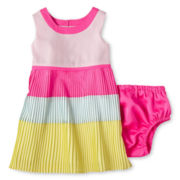 Baker by Ted Baker Colorblock Dress - Girls newborn-24m