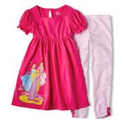 Disney Princess Dress Set - Girls 2-10