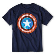 Captain America Graphic Tee - Boys 6-18