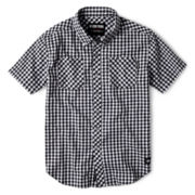 Zoo York® Gingham Woven Shirt - Boys 8-20