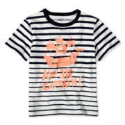 Joe Fresh™ Short-Sleeve Striped Tee - Boys 1t-5t
