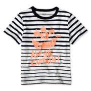 Joe Fresh™ Short-Sleeve Striped Tee - Boys 1t-5t