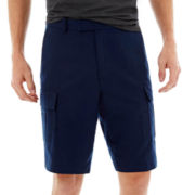 Claiborne Linen-Cotton Shorts