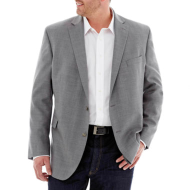 jcpenney.com | Stafford® Executive Hopsack Blazer–Big & Tall