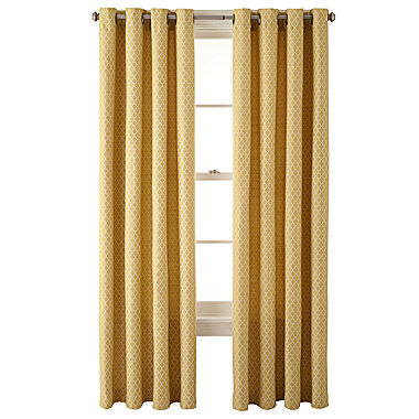 Curtains Ideas curtains jcpenney home collection : jcp home Rory Grommet Top Lined Curtain Panel