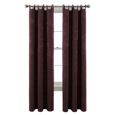 jcpenney.com | Royal Velvet® Viola Grommet-Top Scalloped Curtain Panel
