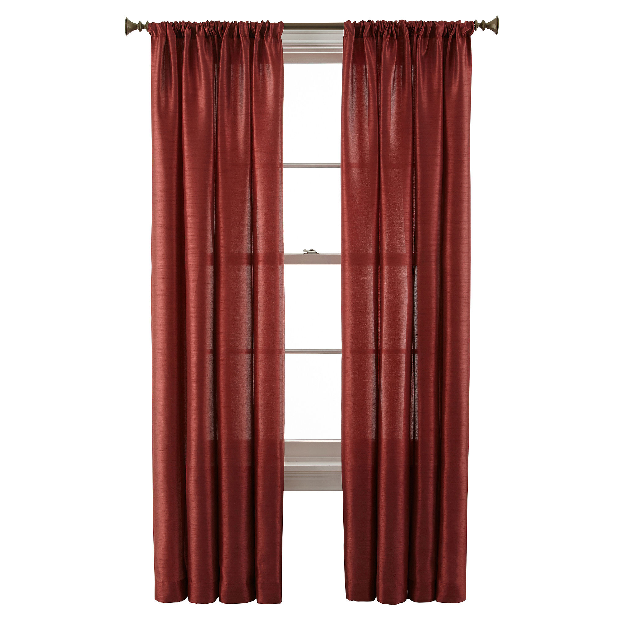 Upc 073109870034 Royal Velvet Britton Rod Pocket Curtain