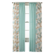 MarthaWindow™ Covington Square or Hydrangea Cotton Window Treatments