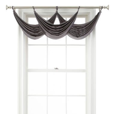 jcpenney.com | Royal Velvet® Ally Tab-Top Waterfall Valance