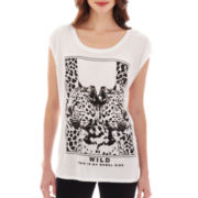 MNG by Mango® Animal Mirror-Print Screen Tee