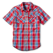 Arizona Plaid Western Shirt - Boys 6-18