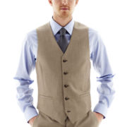 JF J. Ferrar® End on End Slim-Fit Suit Vest