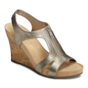 A2 by Aerosoles® Dream Plush Wedge Sandals