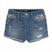 Levi's® Hand Me Down Denim Shorty Shorts – Girls 7-16