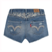 Levi's® Hand Me Down Denim Shorty Shorts - Girls 7-16
