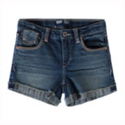 Levi's® Cuffed Denim Shorty Shorts - Girls 7-16