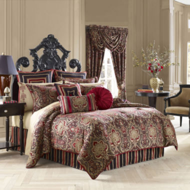 jcpenney.com | Queen Street® Raphael 4-pc. Chenille Comforter Set & Accessories