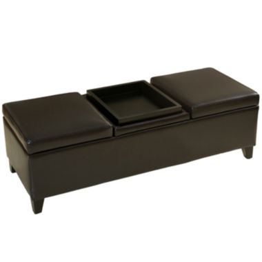 jcpenney.com | Colter Tray-Top Storage Bench