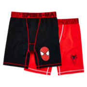 Spider-Man 2-pk. Boxer Briefs – Boys S-XL