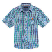 U.S. Polo Assn.® Short-Sleeve Solid Woven Polo - Boys 8-18