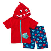Wippette 2-pc. Cover Up Set - Boys 2t-4t