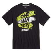 Nike® Short-Sleeve Hustle Tee - Boys 8-20