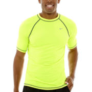 Nike® Short-Sleeve Hydro Stretch UV Core Swim Tee