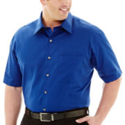 Van Heusen® Short-Sleeve Essential Woven Shirt–Big & Tall