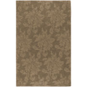 Surya® Mystique Wool Floral Rectangular Rug