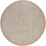 Surya® Mystique Wool Meander Round Rug