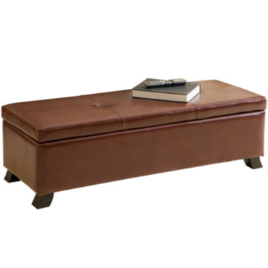 jcpenney.com | Stratford Bonded Leather Storage Bench