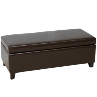 jcpenney.com | Marshall Bonded Leather Storage Bench