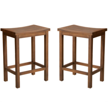 jcpenney.com | Barron Set of 2 Backless Barstools