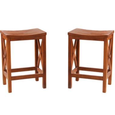 jcpenney.com | Torrington Set of 2 Backless Counter Stools