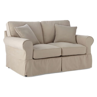 jcpenney.com | Friday Brushed Canvas Extra Slipcovers
