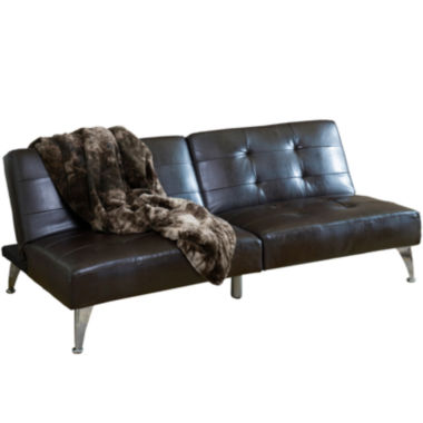 jcpenney.com | Click Clack Cade Bonded Leather Convertible Sofa Bed