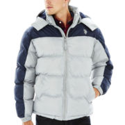 U.S. Polo Assn.® Colorblock Bubble Coat