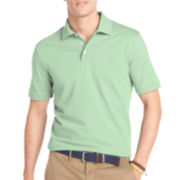 IZOD® Short-Sleeve Solid Jacquard Polo
