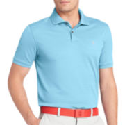 IZOD® Golf Short-Sleeve Textured Stripe Polo