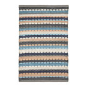 Striped Chindi Rectangular Rug