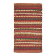 Striped Chindi Rectangular Rug